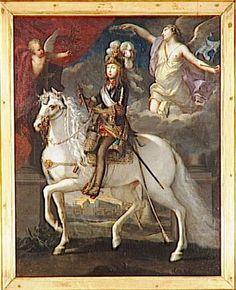 Louis XIV (1638-1715), mid 17th C French school