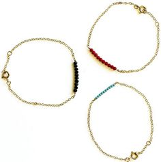 Beaded bracelet: turquoise & gold...always one of my faves