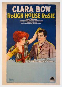 "CLARA BOW in the movie ""Rough House Rosie"""