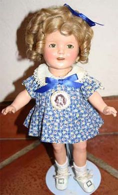 "13"" All Composition Shirley Temple Dolls - SHIRLEY TEMPLE, SHIRLEY ..."