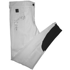 Equiline Xiumin X-Grip Breeches - White - £199.50 at Redpost Equestrian