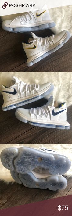 2de45f726 Nike KD 10 NBA Warriors Home (GS) Size 5.5 Youth Brand New Without Box