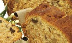Receta de Bizcocho de nueces, pasas y miel