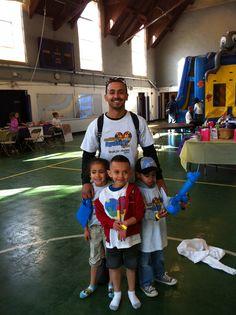 This family is enjoying our family fun day #Autism