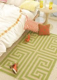 Obsessed with this Trina Turk rug. Great way to add a pop of color to any room!  (919)787-7113