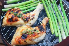 Cinnamon and Coriander: Coconut & Thyme BBQ Chicken