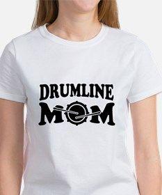 1441e6ba DRUMLINE MOM T-Shirt for Band Mom Shirts, Drumline, Tees, Tee Shirts