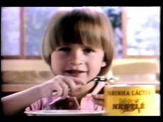 Comercial Farinha Láctea Nestlé - 1987