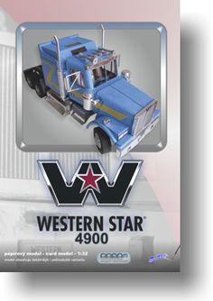 Papírový model - Western Star 4900