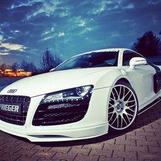 Audi R8 in White