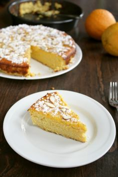 Orange Almond Cake | sel et sucre