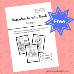 ILMA Education: Free Ramadan Activities Book for Kids 7-12 Years O...