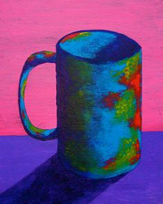 HEY NYC! See my art at the www.coffeeartproject.com/ as part of the  www.newyorkcoffeefestival.com today-Sunday! https://www.etsy.com/listing/249320765/the-morning-cup-of-coffee-original?ref=shop_home_active_ The Morning Cup of Coffee ORIGINAL ACRYLIC by MikeKrausArt on Etsy