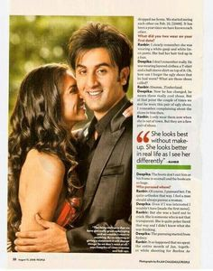 Deepika& ranbir
