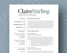 Format Letter Of Reference Interesting Modern Resume Template For Word 13 Page Resume  Cover Letter  .