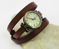 Montre femme Cuir à personnaliser - Gift personalized womens watches