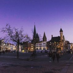 #ghent  by #night #christmas #gent #belgium #city #cityscape