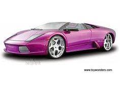 Purple Roadster Convertible!