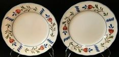 Avondale | DR Vintage Dinnerware and Replacements Currier And Ives, Vintage Dinnerware, Nikko, Salad Plates, Decorating Your Home, Decorative Plates, In This Moment, Tableware, Chips