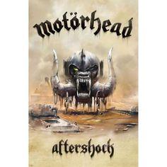Motorhead - Aftershock Fabric Poster Flag Rock N Roll Music Band OFFICIAL in Entertainment Memorabilia, Music Memorabilia, Rock & Pop, Artists M, Motörhead | eBay