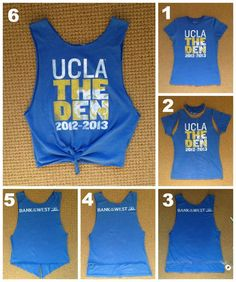 D.I.Y Make a T-shirt into a tank top.  Jessica Korn / Daily Bruin