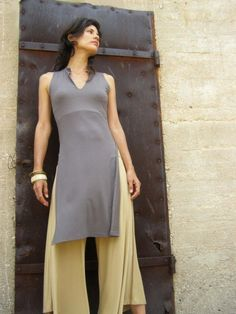 Taupe womens tunic £77.37