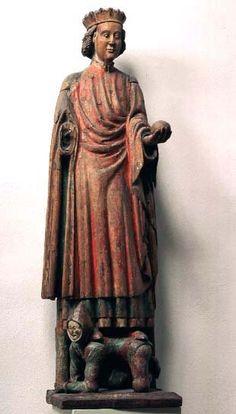 S:t Olaf Kil, region of Närke, Sweden Made in Mälardalen, Sweden.  1350-1375