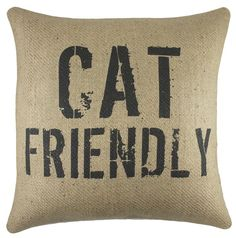 Cat Friendly Pillow
