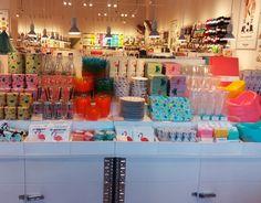 Idea Store, Flying Tiger Copenhagen, Visual Merchandising, Filing, Decoration, Photo Wall, Butter, Italy, Tools