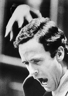 The evil showing in serial killer Ted Bundy. He was executed in 1989 for the torture and murder of over 30 women but he is thought to have killed many more than that.