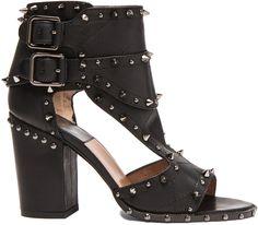 Laurence Dacade Deric Calfskin Leather Heels