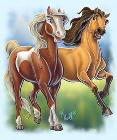 Spirit Horse Movie, Spirit The Horse, Spirit And Rain, Caballo Spirit, Spirit Drawing, Disney Horses, Horse Animation, Horse Movies, Spiritual Paintings