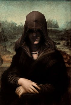 Mona Lisa versión Eizo (Assassin's Creed).