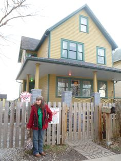 A Christmas Story House in Cleveland, Ohio.