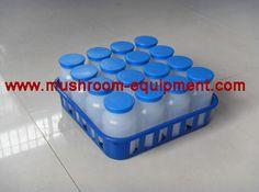 Mushroom plastic bottle for mushroom bottle cultivation line  Please don't hesitate to contact me:  Phone/whatsapp: +8615738809371 Skype:mus...