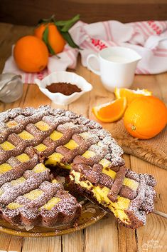 Τάρτα σοκολάτας με κρέμα πορτοκαλιού Sweet Recipes, Real Food Recipes, Cookie Recipes, Dessert Recipes, English Food, Sweet Cakes, Burritos, Cake Cookies, Italian Recipes