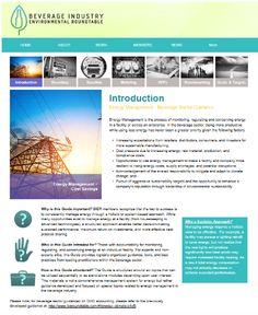 Energy Management Guidance for a Better Bottom Line and a Better Environment