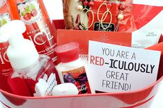 RED-iculously Great Gift Idea