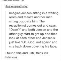Jensen is Dean [team_free_will00's photo on Instagram]