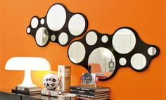 Decorative mirrors for your home, Bubbles mirror, DZ Studio, Calligaris, 2007