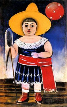 Нико Пиросмани (Пиросманашвили). Девочка с воздушным шаром