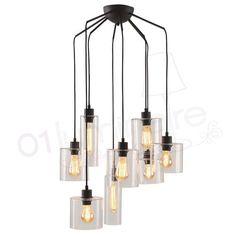 Ilo-ilo suspension 8 lumières   01 Luminaire