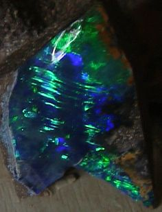 Boulder opal by D.Rosenkranz