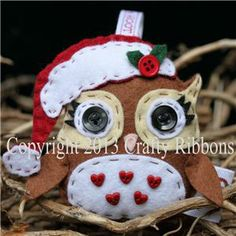 Christmas Owl - Pippa Owl Kit