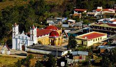 IGLESIA EN LA SIERRA DE JUAREZ, OAXACA