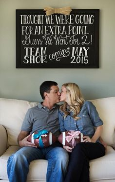 37 Ideas for baby announcement twins chalkboards Pregnacy Announcement, Fun Baby Announcement, Pregnant With Twins Announcement, Twin Baby Announcements, Twin Babies, Baby Twins, Triplets, Kids Daycare, Twins