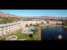 Campbell's Resort in Lake Chelan donated a weekend stay!