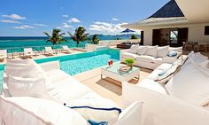 Le Bleu is one of the most exciting and glamorous new villas in Anguilla. - Villas of Distinction