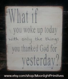 What If Inspirational God Religious Wooden by MoonlightPrimitives, $35.00