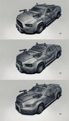 Postapo cars - Sedan by hunterkiller.deviantart.com on @deviantART